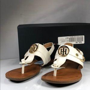[190] Tommy Hilfiger 8 M Flat Sandals